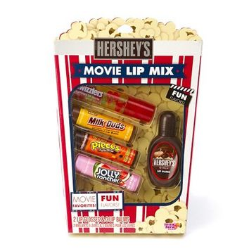 Hershey's Movie Lip Mix Set of 5  | Claire's