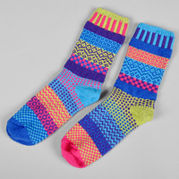 solmate socks - bluebell recycled cotton socks