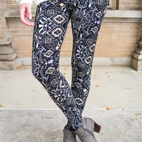 Coffee Run Printed Legging