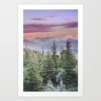 """Wildderness III"". Adventure at the mountains... Art Print by Guido Montañés"