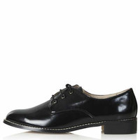 FRILLA Lace Up Shoes - Black