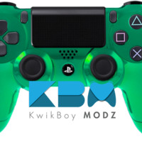 Green Chrome Dualshock 4 PS4 Controller