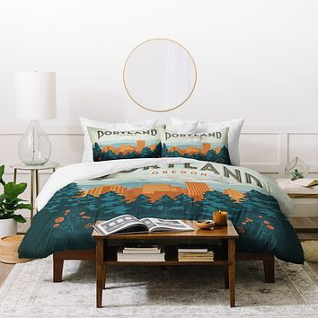 Anderson Design Group Portland Duvet Cover