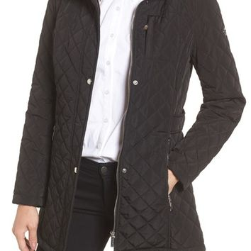 Calvin Klein Hooded Quilted Jacket | Nordstrom
