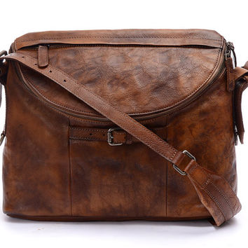 "13""Women's Leather  Bag/Men Leather backpackcrossbody bag/Shoulder bag/satchel/school bag/Leather Backpack/Student bag/Messenger bag--140024"