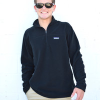 Patagonia Men's Micro-D Fleece Pullover- Black