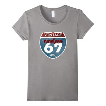 Vintage 1967 50th Birthday 50 Years Old Gift Idea T-Shirt