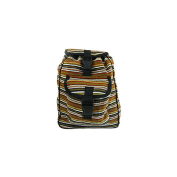 WillaRue Striped Traveler Olive and Black