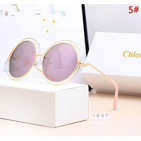 Chloe Fashion New Polarized Women Sun Protection Travel Eyeglasses Glasses 5#
