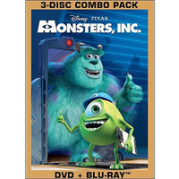 Walmart: Monsters, Inc. (DVD + Blu-ray) (Widescreen)