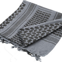 Tactical Desert Scarve For Outdoor Survival / Operator use - 100% Cotton Military Scarf by The Apparel Armory