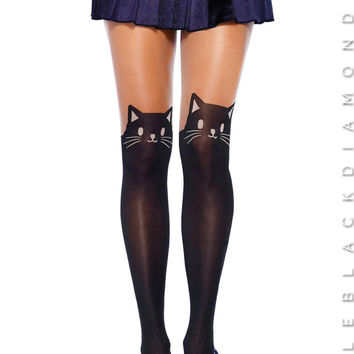 Little Cat Steps Tights