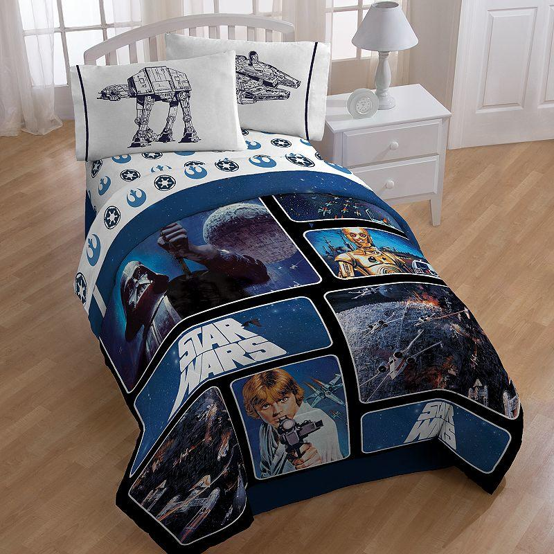Star Wars Reversible Comforter Twin From Kohl 39 S Epic
