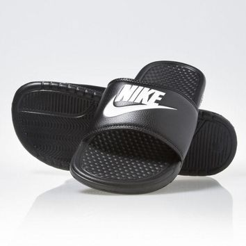 Nike Benassi Just Do It Mens Sandals Slippers Slides 343880-090