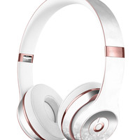 Silver and White Unfocused Sparkle Orbs Full-Body Skin Kit for the Beats by Dre Solo 3 Wireless Headphones