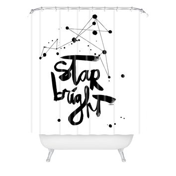 Kal Barteski Star Bright Shower Curtain