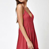 Kendall and Kylie Ruffle Hem Babydoll Dress at PacSun.com