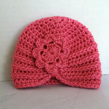 d8670051522 Best Crochet Baby Hats With Flowers Products on Wanelo