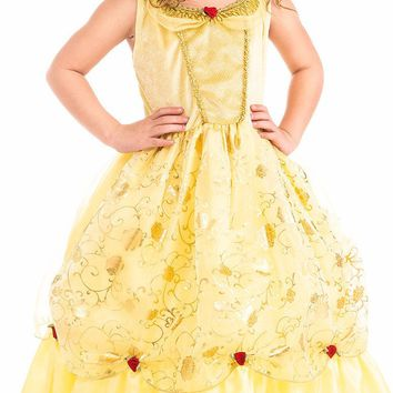 Little Adventures Yellow Beauty Princess Dress