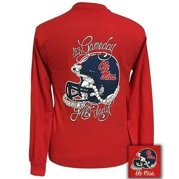 Mississippi Ole Miss Rebels Its Gameday Yall Ready Long Sleeve T-Shirt
