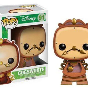 Funko Pop Disney: Beauty and the Beast - Cogsworth Vinyl Figure
