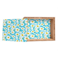 Zoe Wodarz Daisy Do Right Blue Jewelry Box