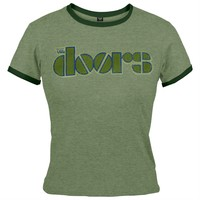The Doors - Vintage Juniors Babydoll T-Shirt - X-Large