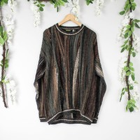 Vintage Coogi Inspired Brown Sweater