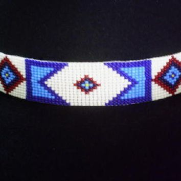 Billy Jack Hat Band Replica of Original Billy Jack Beaded Hatband | ajwhatbands - Accessories on ArtFire