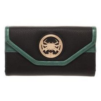 MPW Marvel Wallet Inspired by Hela - Marvel Thor Wallet Hela - Hela Thor Ragnarok Wallet