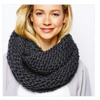 Knit Infinity Scarf | 3 Colors