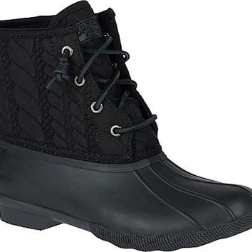 Saltwater Rope Embossed Duck Boot