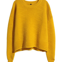 Short Sweater - from H&M