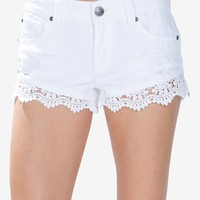 Festival Crochet Trim Short