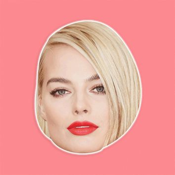 Cool Margot Robbie Mask by RapMasks