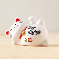Solar Lucky Waving Cat Sculpture - Urban Outfitters