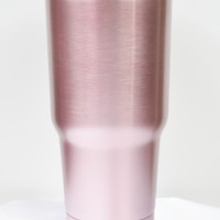 28 oz. stainless steel travel tumbler-pink