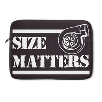 SIZE MATTERS Laptop Sleeve