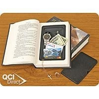 Hardcover Hollow Book Diversion Safe Store Hide Valuables/Money