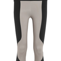 Live The Process - Paneled stretch-jersey leggings