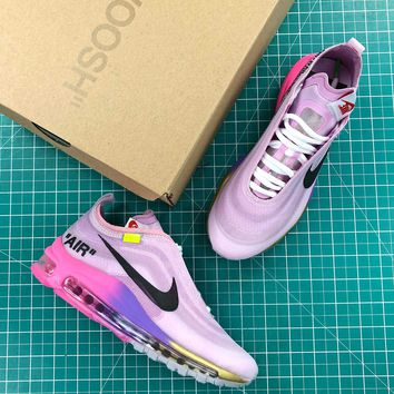 Off White X Nike Air Max 97 Queen Fashion Shoes - Best Online Sale