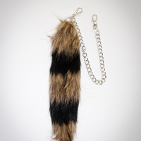 Racoon Fur Tails Clip