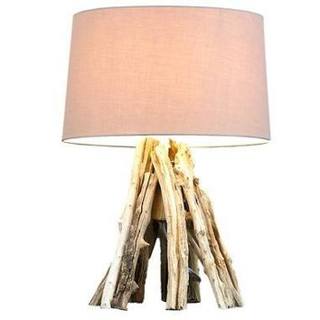 Natural Driftwood Lamp