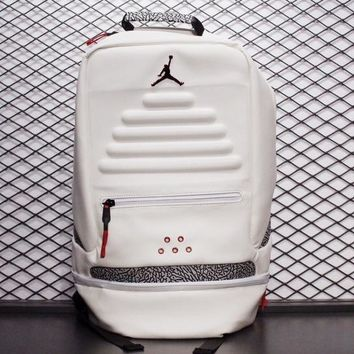 Air Jordan White Cement Backpack - Best Deal Online