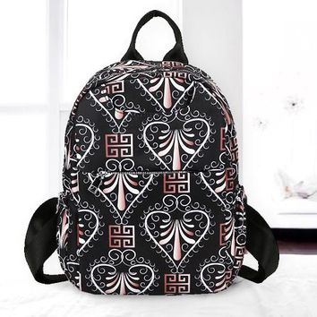 Versace & Fendi & Champion & Dior & Givenchy & Burberry Fashion New More Letter Pattern Print Women Men Leisure Backpack Bag