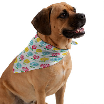 Andi Bird Pt Reyes Flowers Pet Bandana