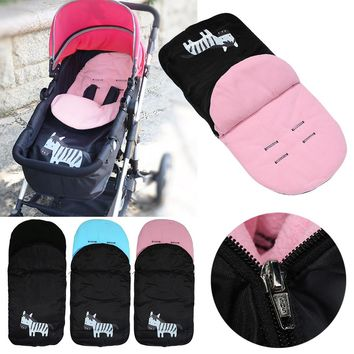 Baby Sleeping Bag Foot Cover Baby Stroller Socks Thickened Feet Bedding Warm Pad Mat for kid Foot Cover Waterproof Windproof