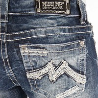 Miss Me Straight Stretch Cuffed Jean - Women's Jeans | Buckle