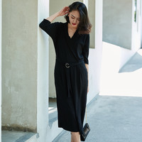 Silky Belted Jumpsuit