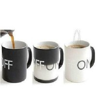On Off Temperature Controlled Mug Heat Sensitive Mug